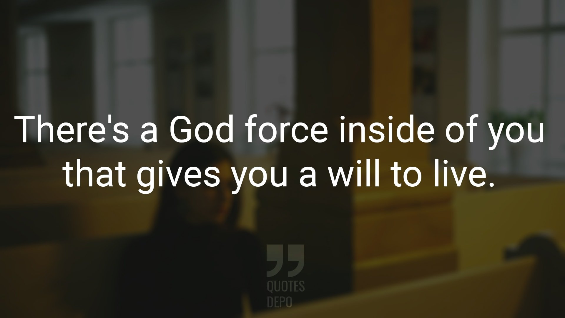There's a God Force Inside of You