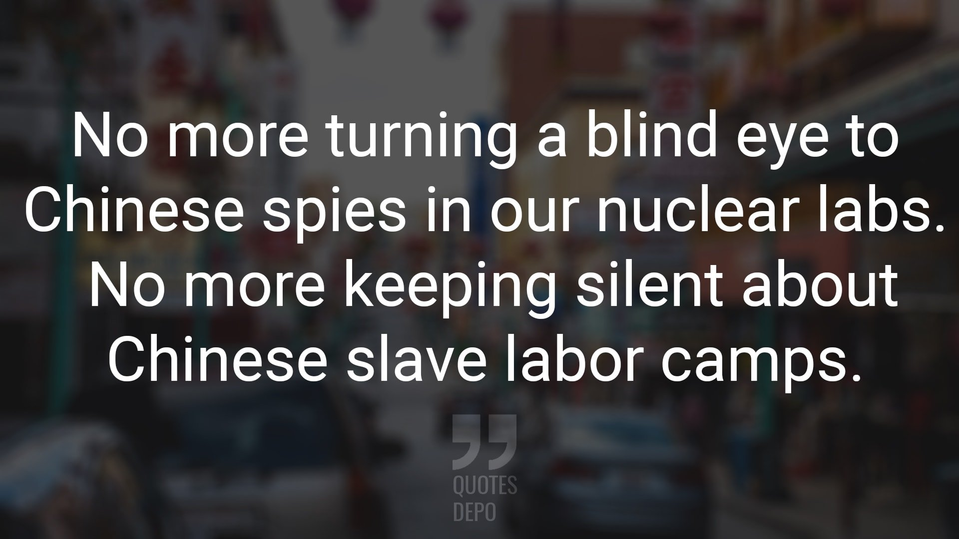 No More Turning a Blind Eye to Chinese Spies