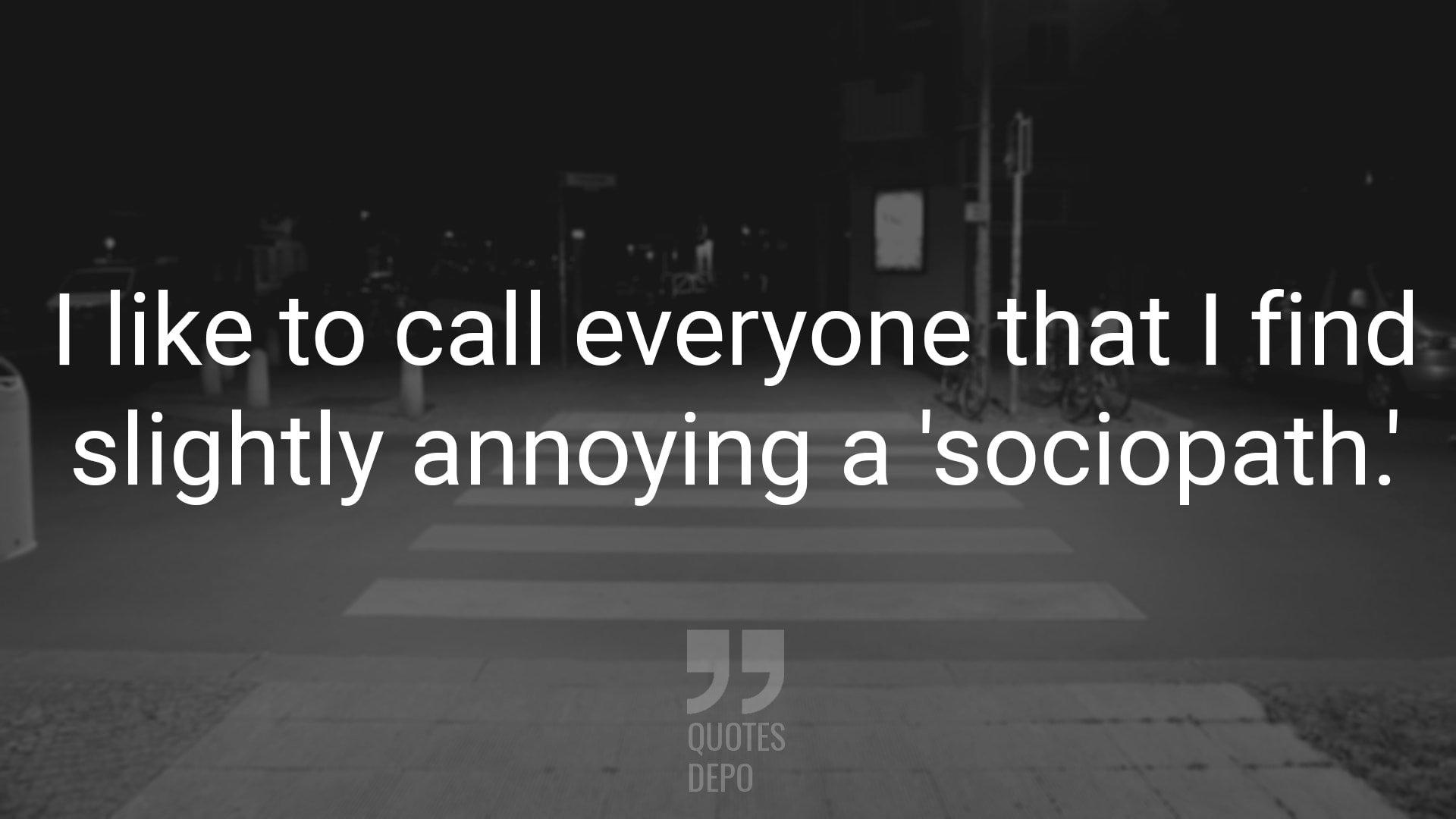I Like to Call Everyone