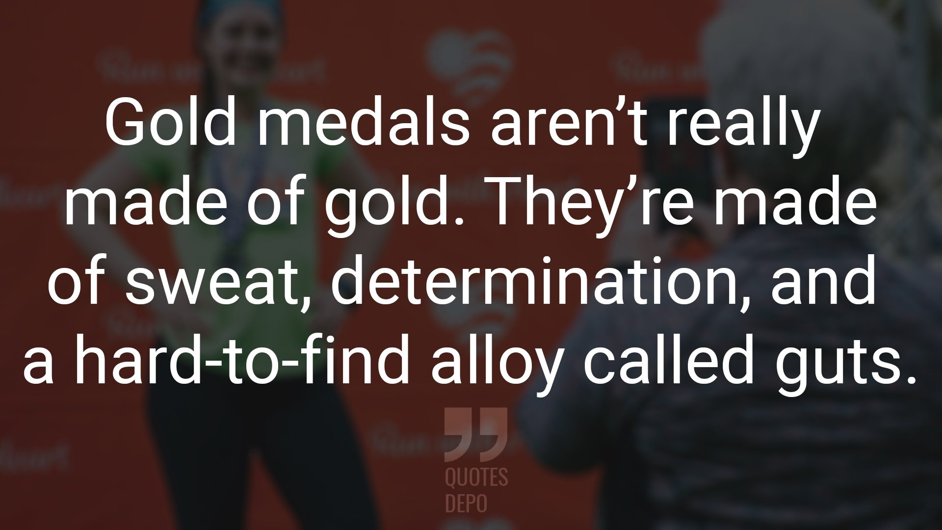 Gold Medals Aren't Really Made of Gold