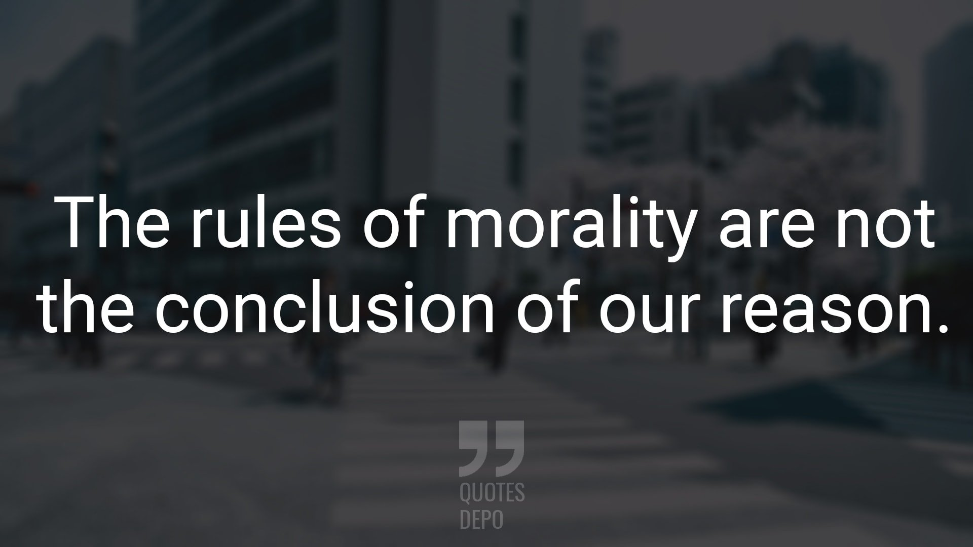 The Rules of Morality