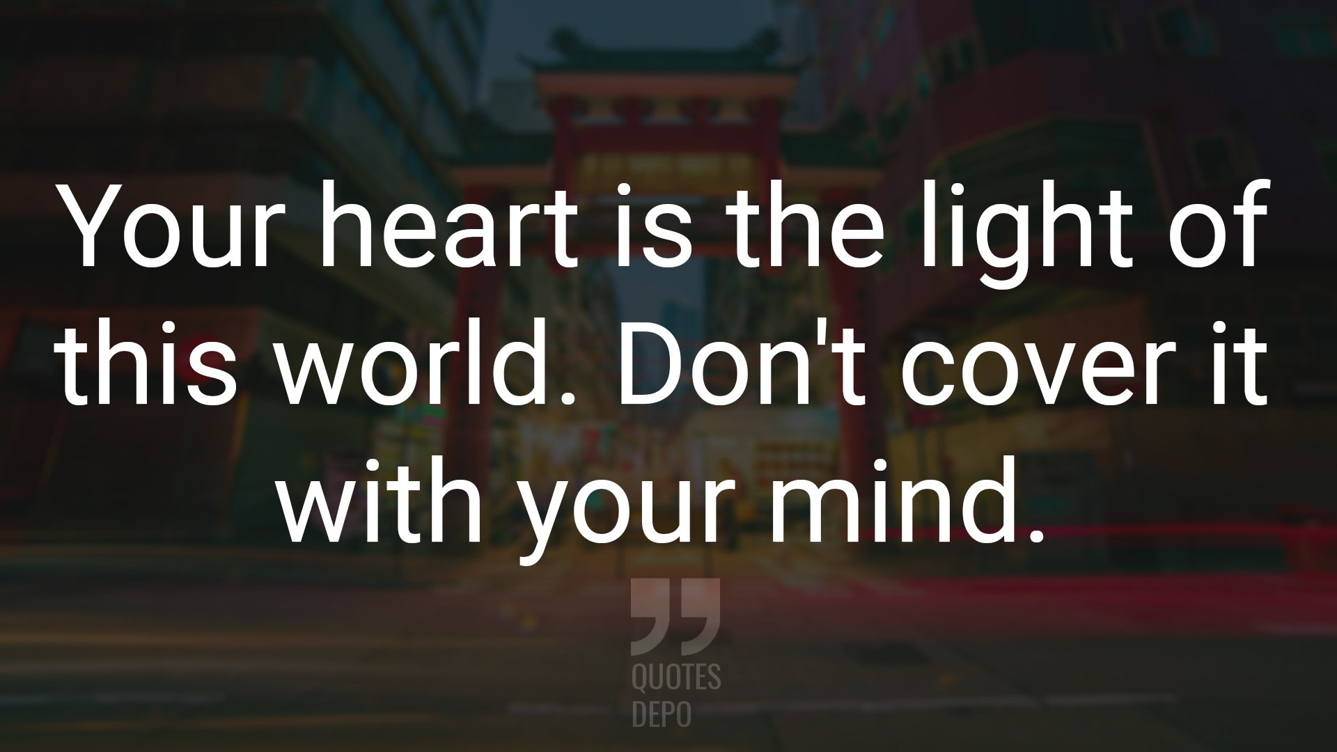 your heart is the light