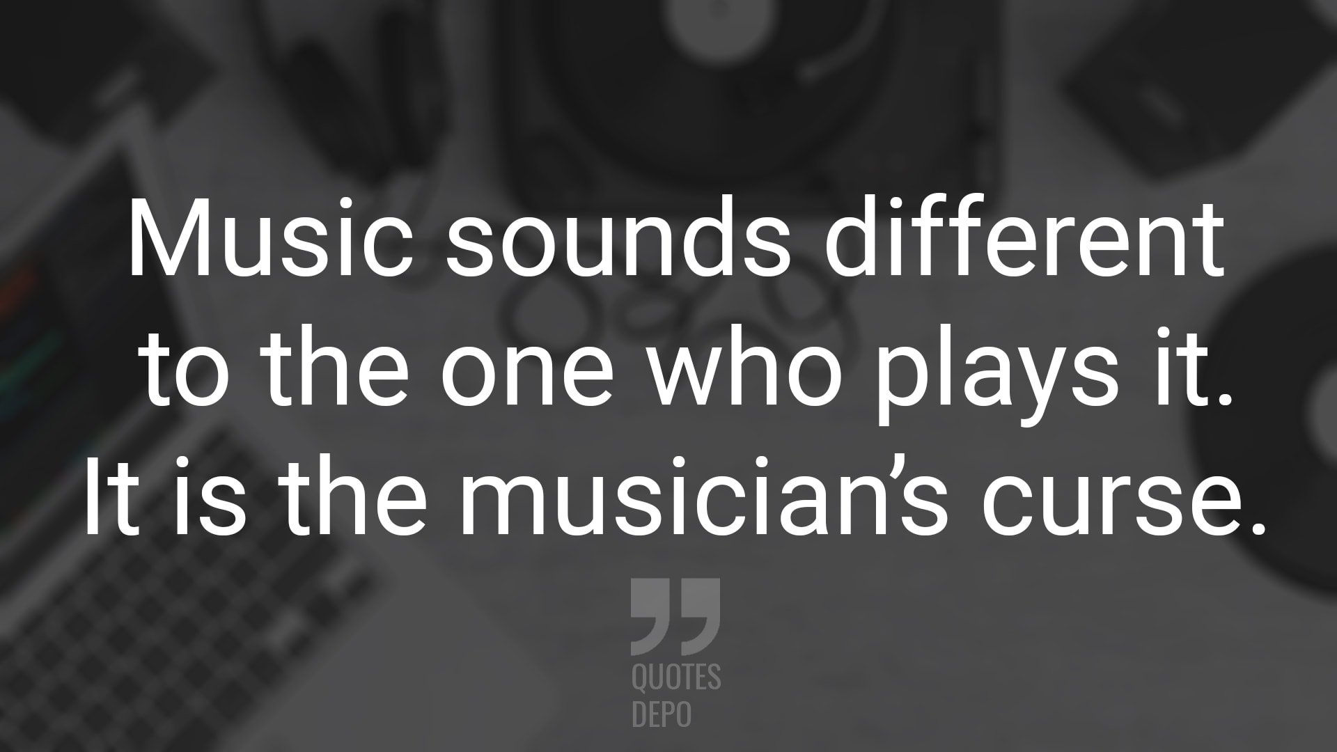 music sounds different